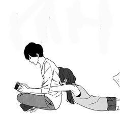 Ideas funny anime couples kawaii boyfriends for 2019 Kawaii Anime, Anime Ai, Anime Love, Funny Anime Couples, Anime Couples Manga, Anime Couples Hugging, Anime Cosplay, Calin Couple, Image Couple
