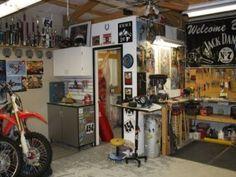 Garage Tool Storage Shelves