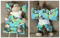 Ucreate: DIY Stuffed Animal Sleeping Bag by It's Always Autumn