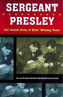 """1958 - Elisabeth Stefaniak was a young German girl who was hired to answer Presley's fan mail. Elisabeth became romantically involved with Elvis, but was torn between her love for the King, and an ordinary solider named Rex Mansfield. Elisabeth eventually chose Rex and they married in June 1960 - but never saw Presley again. In 2002 they published their highly regarded book """"Sergeant Presley: Our Untold Story of Elvis' Missing Years""""."""