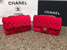 94 Best Chanel Bag Images More Pictures Real Leather Red
