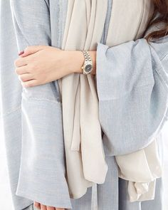 Powder Blue | Abaya | Effortless