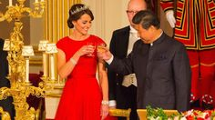 The Royals welcome Chinese president during state visit | CTV News
