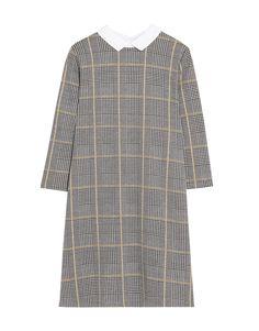 Sukienka z kołnierzykiem koszulowym - Sukienki - Odzież - Dla Niej - PULL&BEAR Polska
