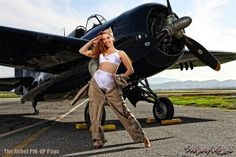 The Rebel PIN-UP Page: PIN-UP WINGS featuring MISS KACIE MARIE by MALAK Photography