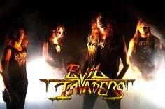Força Metal BR: Divulgação: EVIL INVADERS: Banda envia mensagem ao...