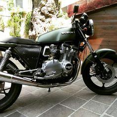 Suzuki gsx 750 Cafe racer
