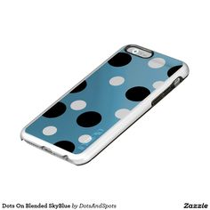 Dots On Blended SkyBlue Incipio Feather® Shine iPhone 6 Case
