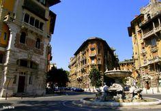 Rome-Piazza Mincio, la Fontana delle Rane