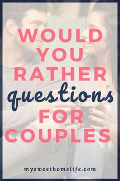 100 would you rather questions for couples. 100 would you rather questions for couples that range from fun to dirty to hard to answer… have fun with these on your next date night! Fun Couple Games, Question Games For Couples, Questions For Married Couples, Fun Couple Activities, Text Games For Couples, Date Night Ideas For Married Couples, Couple Question Game, Fun Couple Questions, Drinking Games For Couples