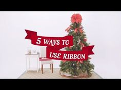 How-To Video: 5 Ways to Use Ribbon on Your Christmas Tree - My Kirklands Blog