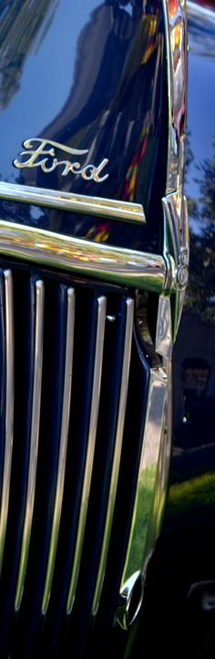 1940 #Ford Grille #ClassicCar #QuirkyRides