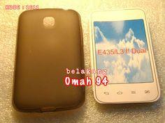 Jual Silikon Soft Case LG Optimus L3 ii E435 Dual Hitam (Black) Transparan | Toko Online Rame | KODE BARANG : 1611