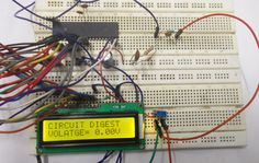 Digital Voltmeter using AVR Microcontroller