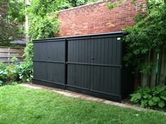 Bike/Storage Sheds