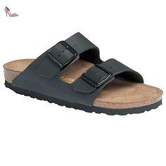 Birkenstock pantoufle ''Arizona'' de Cuir en Noir 41.0 S EU - Chaussures birkenstock (*Partner-Link)