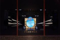 To celebrate Easter, Harrod's has teamed up with Faberge to create a stunning 3D Easter egg display. Inside the store, customers design their own Easter egg patterns on an iPad and are able to purchase a miniature version of their creation at the Faberge egg bar.