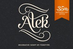 Check out Alek by Fenotype on Creative Market