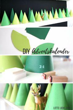DIY Adventskalender Wald