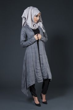 Hijab and abayas is modest Islamic clothing staple attire of women wardrobes either tradition of tre Abaya Fashion, Modest Fashion, Trendy Fashion, Fashion Looks, Fashion Outfits, Style Fashion, Muslim Women Fashion, Islamic Fashion, Mode Abaya