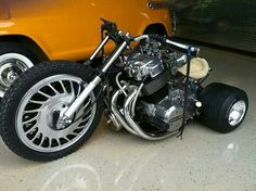 """I'm not into bikes but I had to pin this tricked out """"Big Wheel""""!"""