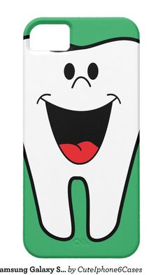Happy Tooth Samsung Galaxy S5/ S6/ S7/ Note 4/ iPhone 6/ 6S Plus/ SE/ 5 / 5S/ 5C/ iPad Mini/ Air, Nexus, iPod Touch/ Motorola Razr  Case Cover designs ready be purchased or customized, check out http://www.zazzle.com/cuteiphone6cases/gifts?cg=196997838612815703&rf=238478323816001889