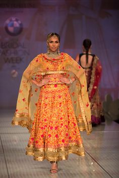 Anarkali by Tarun Tahiliani at India Bridal Fashion Week 2014