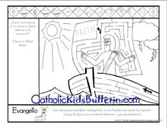 FREE weekly printable to help kids learn at Mass. There is even a saint coloring page for every week. Available in SPANISH and ENGLISH. Awesome!