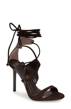 Tamara Mellon 'Gladiatrix' Lace-Up Sandal (Women) available at #Nordstrom