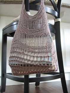 Ravelry: Monteagle Bag pattern by Ann Hahn Buechner  free knitting pattern market bag