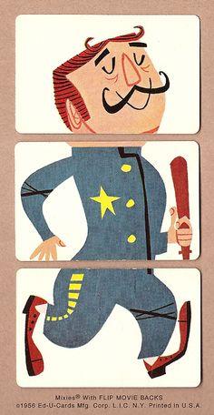 Imprimibles para recortar: puzzles de personajes de circo