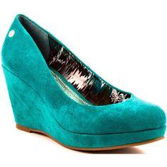 Blink Simonii - Emerald Fabric ($60) ❤ liked on Polyvore
