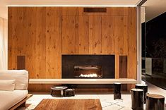 The Turner Residence in the San Francisco's suburb of Larkspur, was designed by Jensen Architects as a living space that's at once booth indoor and outdoor. Architecture Wallpaper, Architecture Awards, Interior Architecture, Interior Design, Turner House, California Architecture, Interior Inspiration, Interior Ideas, Living Spaces