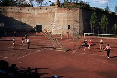 Children Play on a Playground at a Turkish Fort