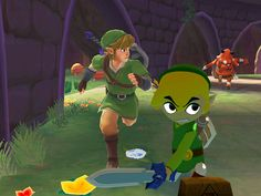 Link and Link | 16 Video Game Characters Posing With The Old Versions Of Themselves