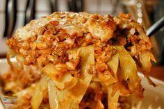 .Cabbage Roll Casserole