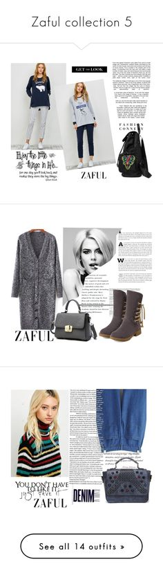 """""""Zaful collection 5"""" by difen ❤ liked on Polyvore featuring WALL, vintage, Betsey Johnson, Alima, Disney, Stila, Ilia, NARS Cosmetics, Mariah Carey and Chanel"""