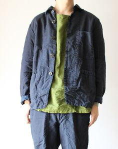 YUNY Mens Suede Leisure Pocket Trim Solid Colored Business Suit Blazer Dark Blue S