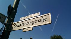 20th July plotter Stauffenberg is so well respected, they named a street after him close to where he was executed