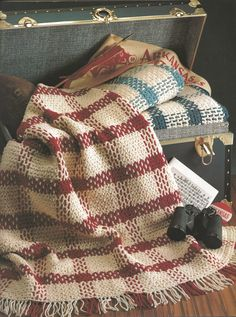 ➹➹ 💇🏼 ➹➹ Manta Xadrez Mantenha a Calma e Costura -  / ➹➹ 💇🏼 ➹➹ Plaid Blanket by Keep Calm And Sew -
