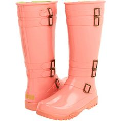 I have these and they are my FAVS!!! So cute and I get sooooo many complements!! : )  I love my rainboots!!!