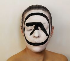 Aphex Twin – Selected Ambient Works 85-92 - Artist Natalie Sharp Creates Incredible Album Art On Her Face  Best of Web Shrine