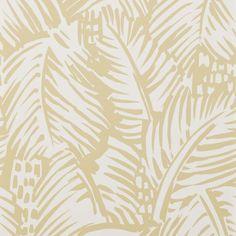 Hermès FEUILLAGE col. M02 Issu d'une gouache originale de Raoul Dufy, ce motif de larges feuilles de palmier crée un jeu de contrastes audacieux très graphique