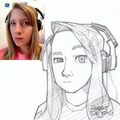 Lindur Sketch by Banzchan.deviantart.com on @deviantART