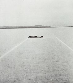 Walter de Maria - Mile Long Drawing, 1968