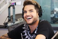 Adam Lambert in Studio