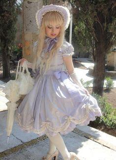 classic lolita in lavender
