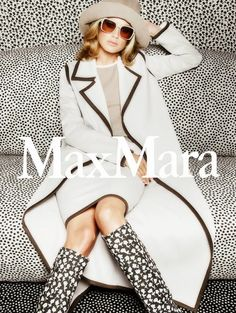 Fantasy Fashion Design: Carolyn Murphy presenta la última campaña de Max Mara Primavera Verano 2015