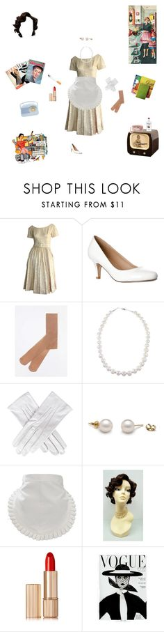 """""""What Do I Look Like? A 50s Housewife?!"""" by beauty-queen518 ❤ liked on Polyvore featuring Dorothy Perkins, Black, Ultimate, Estée Lauder, 1950s, 50s, housewife, 1950sHousewife and 50sHouseWife"""