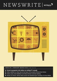 Old style telly on Newswrite
